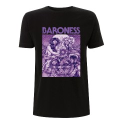 Baroness - Purple Cover - T-shirt (Men)