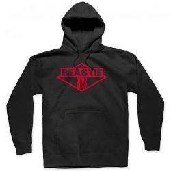 Beastie Boys - BB Red Ink Logo - Hooded Sweat Shirt (Men)