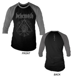 Behemoth - Furor Divinus - Baseball Shirt 3/4 Sleeve (Men)