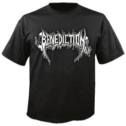 Benediction - Old School Logo - T-shirt (Men)