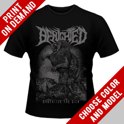Benighted - Brutalize The Sick - Print on demand