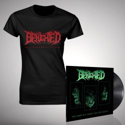 Benighted - Bundle 4 - LP gatefold + T-shirt bundle (Women)