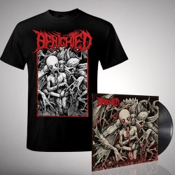Benighted - Bundle 5 - LP gatefold + T-shirt bundle (Men)
