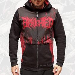 Benighted - Obscene Repressed - Hooded Sweat Shirt Zip (Men)
