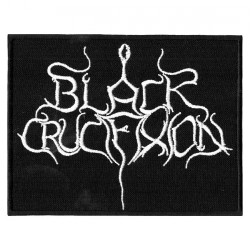 Black Crucifixion - Logo - EMBROIDERED PATCH