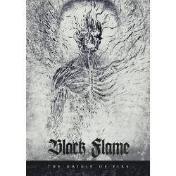 Black Flame - The Origin Of Fire - CD DIGIPAK A5