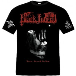 Black Funeral - Vampyr - Throne Of The Beast - T-shirt (Men)