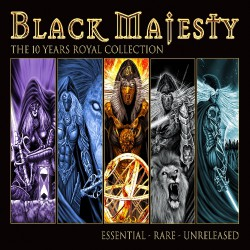 Black Majesty - The 10 Years Royal Collection - DOUBLE CD