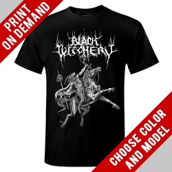 Black Witchery - Antichrist Victory - Print on demand