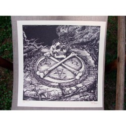 Watain - Kiss of Death - Serigraphy