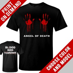 Blood Red Throne - Angel Of Death - Print on demand