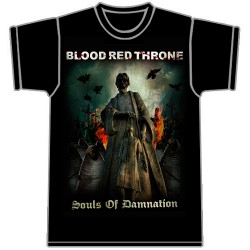 Blood Red Throne - Souls of Damnation - T-shirt (Men)
