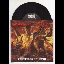 "Bloodstone - Nuclear Warfare - Purveyors Of Death - 7"" vinyl"