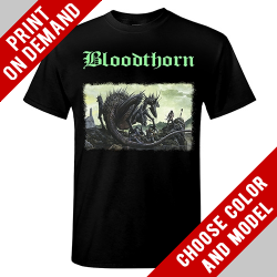 Bloodthorn - In The Shadow - Print on demand