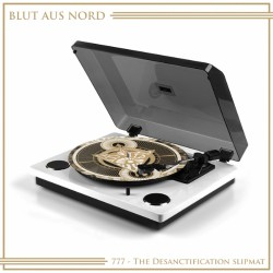 Blut Aus Nord - 777 – The Desanctification - SLIPMAT