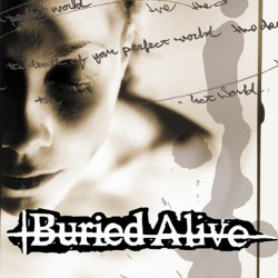 Buried Alive - The Death Of Your Perfect World - LP + download card