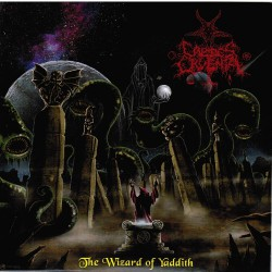 "Caedes Cruenta - Cult Of Eibon - The Wizard Of Yaddith / The Sleeper Of R'lyeh - 7"" vinyl"