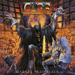 Cage - Darker Than Black - DOUBLE LP GATEFOLD COLOURED