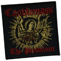 Candlemass - The Pendulum - EMBROIDERED PATCH