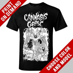 Cannabis Corpse - Blunt Force Domain - Print on demand