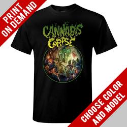 Cannabis Corpse - Nug Critters - Print on demand
