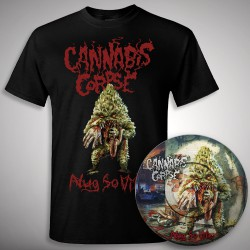 Cannabis Corpse - Nug So Vile - LP picture + T-shirt bundle (Men)