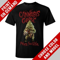 Cannabis Corpse - Nug So Vile - Print on demand