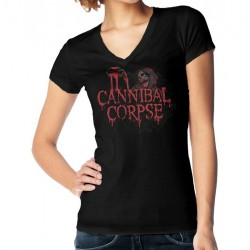 Cannibal Corpse - Blood & Ghoul - T-shirt V-neck (Women)