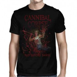 Cannibal Corpse - Red Before Black Cover - T-shirt (Men)