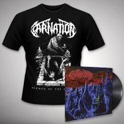 Carnation - Chapel Of Abhorrence - LP gatefold + T-shirt bundle (Men)