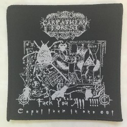 Carpathian Forest - Fuck You All!!!! - Patch