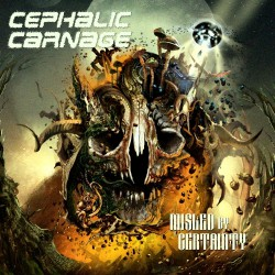 Cephalic Carnage - Misled By Certainty - CD