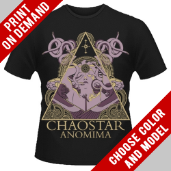 Chaostar - Anomima - Print on demand