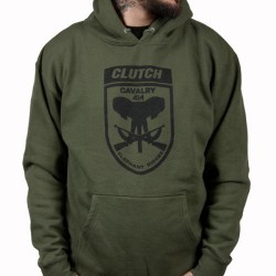 Clutch - Cavalry - Hooded Sweat Shirt (Men)