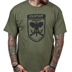 Clutch - Elephant Riders (Olive) - T-shirt (Men)