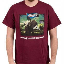 Clutch - The Elephant Riders - T-shirt (Men)