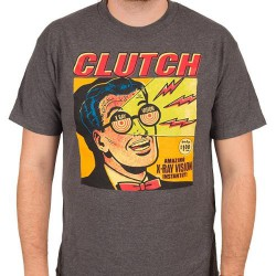 Clutch - X-Ray Vision (Charcoal) - T-shirt (Men)