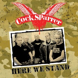 Cock Sparrer - Here We Stand - LP COLOURED + CD