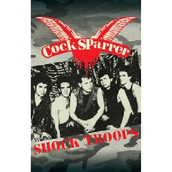 Cock Sparrer - Shock Troops - CASSETTE COLOURED