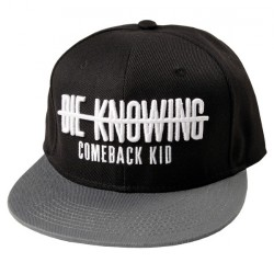 Comeback Kid - Strike Through Hat - SNAPBACK CAP (Men)
