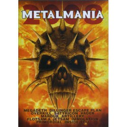 Various Artists - Metalmania 2008 - DVD