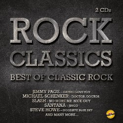 Various Artists - Rock Classics - Best of Classic Rock - DOUBLE CD