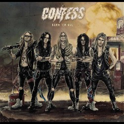 Confess - Burn 'Em All - CD