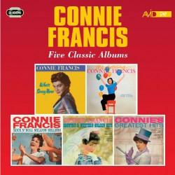 Connie Francis - Five Classic Albums - DOUBLE CD