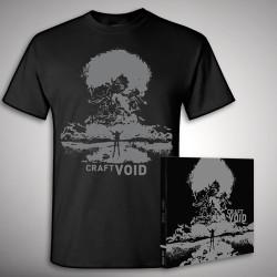 Craft - Void - CD DIGIPAK + T-shirt bundle (Men)
