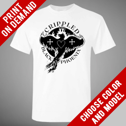 Crippled Black Phoenix - Baseball - Print on demand
