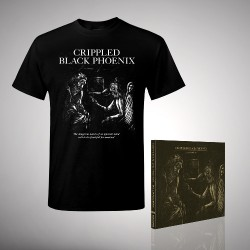 Crippled Black Phoenix - Bundle 1 - CD DIGIPAK + T-shirt bundle (Men)