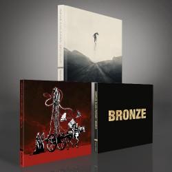 Crippled Black Phoenix - Great Escape + New Dark Age + Bronze - 2CD Digibook + 2CD bundle