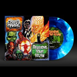 "Cropsy Maniac - Gruesome Stuff Relish - Split - 7"" vinyl coloured"