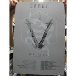 Crown - Natron Tour 2015 - Serigraphy